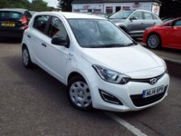 USED 2014 14 HYUNDAI I20 1.1 BLUE 5d 74 BHP One Owner Full Service History With Zero Road Tax