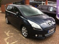 USED 2012 62 PEUGEOT 5008 1.6 E-HDI ALLURE 5 DOOR AUTO 112 BHP WITH LEATHER INTERIOR IN MET BLUE  APPROVED CARS ARE PLEASED TO OFFER THIS PEUGEOT 5008 1.6 E-HDI DIESEL ALLURE 5 DOOR AUTOMATIC 7 SEATER 112 BHP IN MET BLUE WITH LEATHER INTERIOR,SAT NAV,FRONT AND REAR PARKING SENSORS,PANORAMIC ROOF WITH ELECTRIC SUN BLIND,CD,7 SEATS AND MUCH MUCH MORE WITH A FULL SERVICE HISTORY WITH 6 SERVICE STAMPS IN THE SERVICE BOOK.