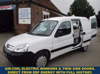 2010 PEUGEOT PARTNER 800 Origin Direct From EDF With Air-Con & Full History £3495.00