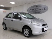USED 2011 11 NISSAN MICRA 1.2 VISIA 5d 79 BHP Great Car With Full History & Very Low Running Costs
