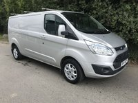 USED 2014 14 FORD TRANSIT CUSTOM 2.2 290 LIMITED LR P/V 1d 124 BHP