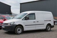 USED 2014 64 VOLKSWAGEN CADDY MAXI 1.6 C20 TDI STARTLINE BLUEMOTION TECHNOLOGY 1d 101 BHP NO VAT TO PAY, REAR PARKING SENSORS, FINANCE AVAILABLE