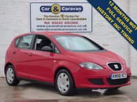 USED 2008 58 SEAT ALTEA 1.9 REFERENCE TDI 5d Full History Inc Belt Change 0% Deposit Finance Available