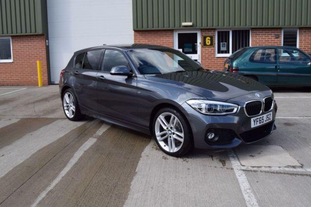 2015 65 BMW 1 SERIES 2.0 125I M SPORT 5d 215 BHP