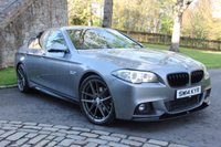 USED 2014 14 BMW 5 SERIES 2.0 520D M SPORT 4d AUTO 181 BHP REVERSE ASSIST CAMERA - SPACE GREY