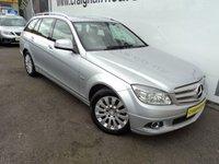 2008 MERCEDES-BENZ C CLASS 2.1 C220 CDI ELEGANCE 5d AUTO 168 BHP £7495.00