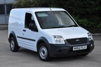 USED 2012 62 FORD TRANSIT CONNECT 1.8 T200 LR 5d 74 BHP SWB LOW ROOF DIESEL PANEL MANUAL VAN ONE OWNER LOW MILEAGE VEHICLE
