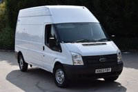 USED 2013 63 FORD TRANSIT 2.2 350 H/R 5d 124 BHP LWB RWD EURO 5 DIESEL PANEL MANUAL VAN  ONE OWNER S/HISTORY EURO 5 ENGINE