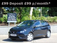 USED 2015 15 SEAT IBIZA 1.2 S A/C 5d 69 BHP GREAT VALUE, FULL SERVICE HISTORY, AUX CONNECTION