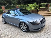 USED 2003 03 AUDI TT 1.8 ROADSTER QUATTRO 2d 177 BHP LOCAL P/X CAR IN GREAT ORDER WITH FSH