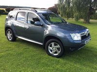 USED 2013 63 DACIA DUSTER 1.5 LAUREATE DCI 4WD 5d 109 BHP **4X4 ***GREAT SPEC