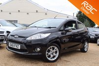 USED 2011 61 FORD FIESTA 1.2 ZETEC 3d 81 BHP Bluetooth, 6 months warranty