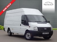 USED 2013 13 FORD TRANSIT 2.2 350 H/R 1d 124 BHP JUMBO, ONE OWNER, FULL HISTORY