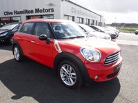 USED 2012 MINI COUNTRYMAN 1.6 COOPER D 5d 112 BHP