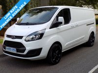 2013 FORD TRANSIT CUSTOM 2.2 FWD 290 LWB L2H1 LOW ROOF 100BHP 6 SPEED £9995.00