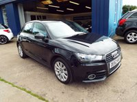 USED 2012 62 AUDI A1 1.4 SPORTBACK TFSI SPORT 5d AUTO 122 BHP ONE OWNER FROM NEW / FULL DEALER SERVICE HISTORY