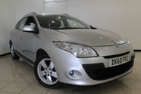USED 2010 60 RENAULT MEGANE 1.5 DYNAMIQUE TOMTOM DCI 5DR 106 BHP SERVICE HISTORY + AIR CONDITIONING + SAT NAVIGATION + CRUISE CONTROL + MULTI FUNCTION WHEEL + RADIO/CD + 16 INCH ALLOY WHEELS