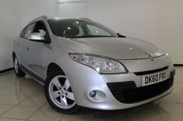 View our 2010 60 RENAULT MEGANE 1.5 DYNAMIQUE TOMTOM DCI 5DR 106 BHP