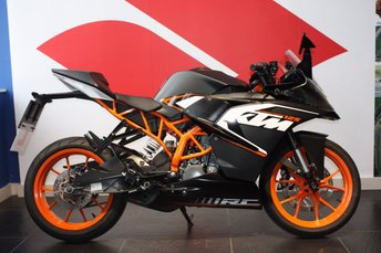 View our KTM RC 125
