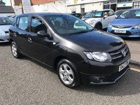 USED 2013 63 DACIA SANDERO 0.9 LAUREATE TCE 5d 90 BHP PRICE INCLUDES A 6 MONTH AA WARRANTY DEALER CARE EXTENDED GUARANTEE, 1 YEARS MOT AND A OIL & FILTERS SERVICE. 12 MONTHS FREE BREAKDOWN COVER