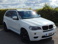 USED 2007 57 BMW X5 M SPORT 7S AUTOMATIC SATELLITE NAVIGATION & BLUETOOTH