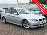 USED 2007 57 BMW 3 SERIES 2.0 318I SE 4d 148 BHP PRICE INCLUDES A 6 MONTH RAC WARRANTY, 1 YEARS MOT WITH AND 12 MONTHS FREE BREAKDOWN COVER