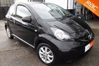 USED 2007 07 TOYOTA AYGO 1.0 BLACK VVT-I 3d 69 BHP Air conditioning,low tax,economical