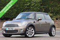 USED 2011 11 MINI HATCH COOPER 1.6 COOPER 3d 122 BHP Halliwell Jones Service History