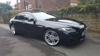 USED 2013 13 BMW 6 SERIES 3.0 640D M SPORT GRAN COUPE 4d AUTO