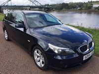 USED 2004 54 BMW 5 SERIES 2.5 525I SE TOURING 5d AUTO 190 BHP **STUNNING  MIDNIGHT BLUE**