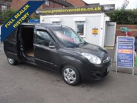 2015 VAUXHALL COMBO DIESEL  L2H1 CDTI  SPORTIVE  105 BHP MAXI LONG WHEEL BASE  TWIN SIDE LOADING DOORS  METALLIC PANTHER BLACK AIR CON ECO SWITCH  ELECTRIC PACK  SUPER CONDITION ALL ROUND WELL LOOKED AFTER  VAN  £6500.00