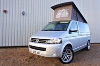 USED 2015 15 VOLKSWAGEN TRANSPORTER 2.0 T28 TDI 101 BHP - EVERY CONVERTED CAMPERVAN COMES WITH OUR 3 YEAR MECHANICAL AND INTERIOR WARRANTY