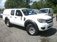 USED 2012 61 FORD RANGER 2.5 TDCI XL D/CAB 4X4 FACELIFT 143 BHP