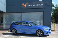 USED 2014 14 BMW 1 SERIES 3.0 M135I 3d 316 BHP ONE OWNER FROM NEW, FULL BMW SERVICE HISTORY, CORAL RED LEATHER INTERIOR, BMW M PERFORMANVE EXHAUST