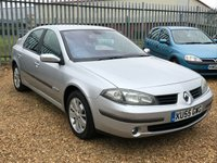 USED 2005 55 RENAULT LAGUNA 2.0 DYNAMIQUE 16V 5d 135 BHP Silver Met with Half Leather Long MoT Family Hatch Previously Sold by Us Great Spec