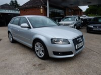 USED 2010 10 AUDI A3 2.0 SPORTBACK TDI SPORT 5d 138 BHP FULL DEALER HISTORY,TWO KEY'S,AUX PORT,CHEAP TO RUN
