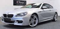 "USED 2012 62 BMW 6 SERIES 3.0 640D M SPORT 2d AUTO 309 BHP **20""ALLOYS-SOFT CLOSE DOORS**"
