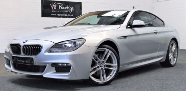 2012 62 BMW 6 SERIES 3.0 640D M SPORT 2d AUTO 309 BHP