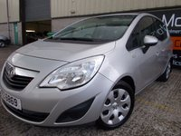 USED 2011 VAUXHALL MERIVA 1.4 EXCLUSIV 5d 119 BHP Low Rate Finance Available, No Fees, No Deposit Necessary