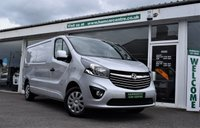 USED 2015 65 VAUXHALL VIVARO 1.6 2900 L2H1 CDTI P/V SPORTIVE  114 BHP We have more Vaxhall Vivaros see our website full details www.hamcarcentre.co.uk