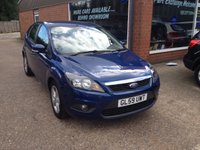 USED 2009 59 FORD FOCUS 1.6 ZETEC 5d 100 BHP ONLY 51000 MILES 1 OWNER IN MET BLUE APPROVED CARS ARE PLEASED TO OFFER THIS FORD FOCUS 1.6 ZETEC 5d 100 BHP WITH ONLY 51000 MILES A 1 OWNER IN MET BLUE IN STUNNING CONDITION INSIDE AND OUT WITH A FULL SERVICE HISTORY A GREAT LOW MILEAGE ONE OWNER FAMILY HATCHBACK WITH 2 KEYS.