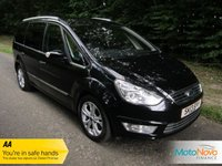 USED 2013 13 FORD GALAXY 1.6 TITANIUM X TDCI 5d 115 BHP FANTASTIC ONE LADY OWNED TOP OF THE RANGE FORD GALAXY WITH FULL BLACK LEATHER, SEVEN SEATS, AIR CONDITIONING, CRUISE CONTROL, ALLOY WHEELS AND FORD SERVICE HISTORY