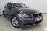 USED 2008 57 BMW 3 SERIES 2.0 318I ES TOURING 5DR 141 BHP SERVICE HISTORY + AIR CONDITIONING + RADIO/CD + ELECTRIC WINDOWS + ELECTRIC MIRRORS + 16 INCH ALLOY WHEELS