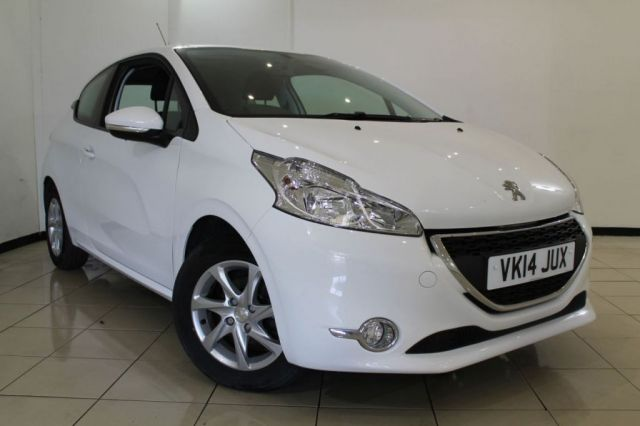View our 2014 14 PEUGEOT 208 1.4 HDI ACTIVE 3DR 68 BHP