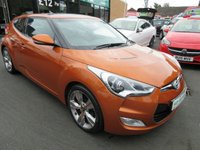 USED 2012 12 HYUNDAI VELOSTER 1.6 GDI SPORT 4d 138 BHP JUST ARRIVED TEST DRIVE TODAY