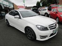 USED 2013 13 MERCEDES-BENZ C CLASS 2.1 C220 CDI BLUEEFFICIENCY AMG SPORT PLUS 2d AUTO 168 BHP JUST ARRIVED TEST DRIVE TODAY