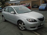 USED 2004 54 MAZDA 3 1.6 TS 5d AUTO 105 BHP NEW MOT+ ONLY 3 FORMER KEEPERS