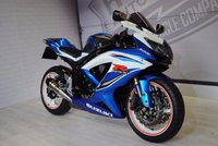 2011 SUZUKI GSXR 600 K9  £5750.00
