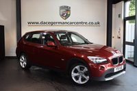 USED 2011 11 BMW X1 2.0 SDRIVE20D SE 5DR 174 BHP + EXCELLENT SERVICE HISTORY + WONDERFULLY MAINTAINED + AUXILIARY PORT + CLIMATE CONTROL + PARKING SENSORS + 18 INCH ALLOY WHEELS +