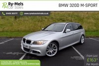 USED 2010 60 BMW 3 SERIES 2.0 320D M SPORT TOURING 5d 181 BHP FULL SERVICE HISTORY, EXCELLENT CONDITION